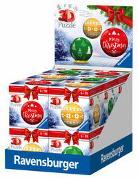 Cover-Bild zu 12er Verkaufskassette Puzzle-Ball Weihnachtsschmuck