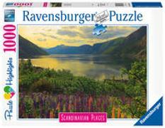 Cover-Bild zu Ravensburger Puzzle Scandinavian Places 16743 - Fjord in Norwegen - 1000 Teile Puzzle für Erwachsene und Kinder ab 14 Jahren