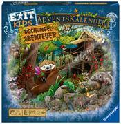 Cover-Bild zu Ravensburger 18957 - EXIT Adventskalender kids - Dschungel-Abenteuer - 24 Rätsel für EXIT-Begeisterte ab 6 Jahren
