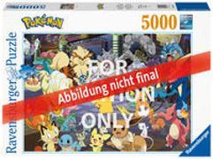 Cover-Bild zu Ravensburger Puzzle 16845 - Pokémon Allstars - 5000 Teile Puzzle für Erwachsene und Kinder ab 14 Jahren