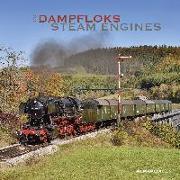 Cover-Bild zu ALPHA EDITION (Hrsg.): Dampfloks 2022 - Broschürenkalender 30x30 cm (30x60 geöffnet) - Kalender mit Platz für Notizen - Steam Engines - Bildkalender - Wandkalender