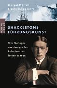 Cover-Bild zu Morrell, Margot: Shackletons Führungskunst