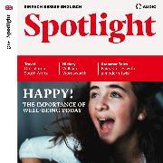 Cover-Bild zu Englisch lernen Audio - Glücklich! (Audio Download) von Verlag, Spotlight