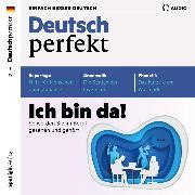 Cover-Bild zu Deutsch lernen Audio - Ich bin da! So werden Sie im Beruf gesehen und gehört (Audio Download) von Verlag, Spotlight