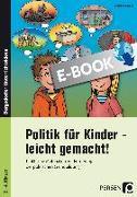 Cover-Bild zu Politik für Kinder - leicht gemacht! (eBook) von Schub, Christine