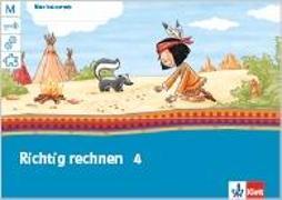 Cover-Bild zu Mein Indianerheft. Richtig rechnen 4. Arbeitsheft 4. Schuljahr