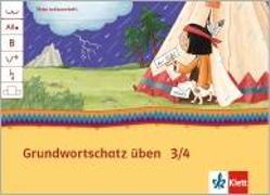 Cover-Bild zu Mein Indianerheft. Grundwortschatz üben 3/4. Hamburg, Berlin, Brandenburg. Arbeitsheft 3-4. Schuljahr