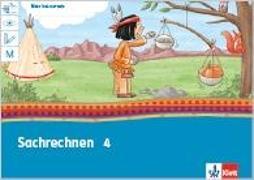 Cover-Bild zu Mein Indianerheft. Sachrechnen. Arbeitsheft 4. Schuljahr