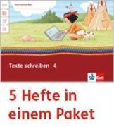 Cover-Bild zu Mein Indianerheft. Texte schreiben. Arbeitsheft Klasse 4 (5-er Paket)