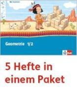 Cover-Bild zu Mein Indianerheft. Geometrie. Arbeitsheft Klasse 1/2 (5-er Paket)