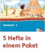 Cover-Bild zu Mein Indianerheft. Geometrie. Arbeitsheft Klasse 3 (5-er Paket)