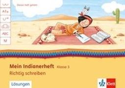 Cover-Bild zu Mein Indianerheft. Richtig schreiben 3. Arbeitsheft 3. Schuljahr