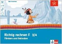 Cover-Bild zu Mein Indianerheft. Richtig rechnen. Fördern und Inklusion F. Arbeitsheft 3.-4. Schuljahr