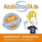 Cover-Bild zu AzubiShop24.de Kombi-Paket Lernkarten Eisenbahner-/in im Betriebsdienst von Rung-Kraus, Michaela