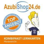 Cover-Bild zu AzubiShop24.de Kombi-Paket Lernkarten Pferdewirt/-in von Rung-Kraus, Michaela