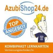 Cover-Bild zu AzubiShop24.de Kombi-Paket Lernkarten Vermessungstechniker/-in von Rung-Kraus, Michaela