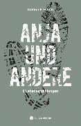 Cover-Bild zu Riedo, Dominik: Anja und andere (eBook)