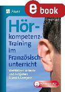 Cover-Bild zu Hörkompetenz-Training im Französischunterricht 3-4 (eBook) von Paraire, Ines