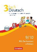 Cover-Bild zu 3fach Deutsch, Differenzierungsmaterial auf drei Niveaustufen, 9./10. Jahrgangsstufe, Mit Sachtexten arbeiten, Kopiervorlagen mit CD-ROM von Bonora, Susanne