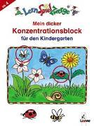 Cover-Bild zu LernSpielZwerge - Mein dicker Konzentrationsblock für den Kindergarten von Loewe Lernen und Rätseln (Hrsg.)