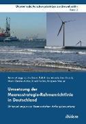 Cover-Bild zu Marggraf, Rainer: Umsetzung der Meeresstrategie-Rahmenrichtlinie in Deutschland. Untersuchungen zur ökonomischen Anfangsbewertung
