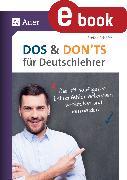 Cover-Bild zu Dos and Donts für Deutschlehrer (eBook) von Schäfer, Stefan