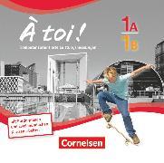 Cover-Bild zu À toi !, Fünfbändige Ausgabe, Band 1A und 1B, Leistungsmessungen, CD-Extra, CD und CD-ROM auf einem Datenträger von Faißt, Stefanie
