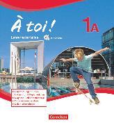Cover-Bild zu À toi !, Fünfbändige Ausgabe, Band 1A, Lehrermaterialien mit CD-Extra im Ordner, CD-ROM und CD auf einem Datenträger von Kaiser, Ines
