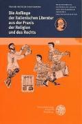 Cover-Bild zu Hausmann, Frank-Rutger: Die Anfänge der italienischen Literatur aus der Praxis der Religion und des Rechts