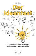 Cover-Bild zu Shalet, Julia: Der Ideentest