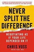 Cover-Bild zu Voss, Chris: Never Split the Difference