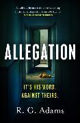 Cover-Bild zu Adams, R. G.: Allegation