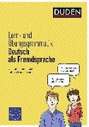Cover-Bild zu Lern- und Übungsgrammatik Deutsch als Fremdsprache von Kunkel, Melanie