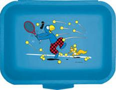 Cover-Bild zu Globi Lunchbox Tennis blau