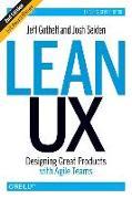 Cover-Bild zu Lean UX, 2e von Gothelf, Jeff