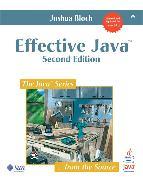 Cover-Bild zu Effective Java von Bloch, Joshua