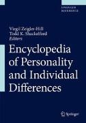 Cover-Bild zu Encyclopedia of Personality and Individual Differences (eBook) von Zeigler-Hill, Virgil (Hrsg.)