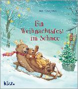 Cover-Bild zu Ein Weihnachtsfest im Schnee von Chapman, Jane