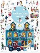 Cover-Bild zu Wimmelbuch Weihnachten von Parciak, Monika (Illustr.)
