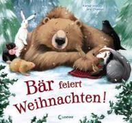 Cover-Bild zu Bär feiert Weihnachten! von Wilson, Karma
