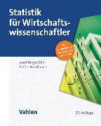 Cover-Bild zu Statistik für Wirtschaftswissenschaftler von Bleymüller, Josef