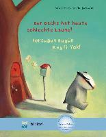 Cover-Bild zu Petz, Moritz: Der Dachs hat heute schlechte Laune! Kinderbuch Deutsch-Türkisch