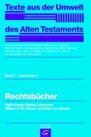 Cover-Bild zu Borger, Rykle: Rechtsbücher