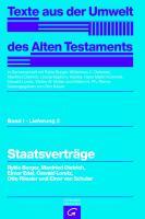 Cover-Bild zu Borger, Rykle: Staatsverträge
