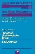 Cover-Bild zu Hinz, Walther: Historisch-chronologische Texte I (eBook)
