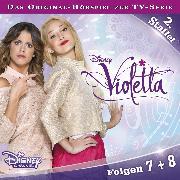 Cover-Bild zu Weigand, Kathrin: Disney/Violetta - Staffel 2: Folge 7 + 8 (Audio Download)