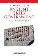 Cover-Bild zu Beck, Hans (Hrsg.): A Companion to Ancient Greek Government (eBook)