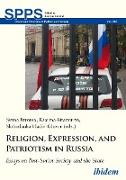 Cover-Bild zu Turoma, Sanna (Hrsg.): Religion, Expression, and Patriotism in Russia (eBook)