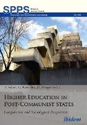 Cover-Bild zu Hazeldine, Gary: Higher Education in Post-Communist States (eBook)