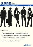 Cover-Bild zu Kim, Oksana: The Development and Challenges of Russian Corporate Governance I (eBook)